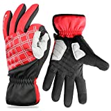 Winter Gloves, Cold Weather Windproof Waterproof Touchscreen Gloves for Men Women, Warm Thermal