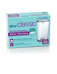 Dekor Classic Biodegradable Refill Two Count BOBEBE Online Baby Store From New York to Miami and Los Angeles