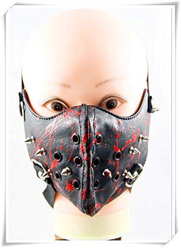 (because meet you Steampunk Masquerade Mask, Halloween Respirator Mask, Gas Masquerade Mask for Men, Steampunk Accessories Black)