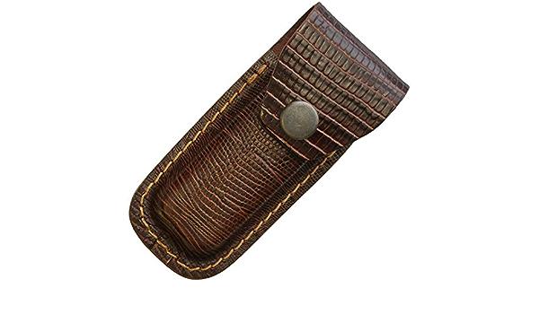 Leather Belt Pouch Lizard// Sheath 1184
