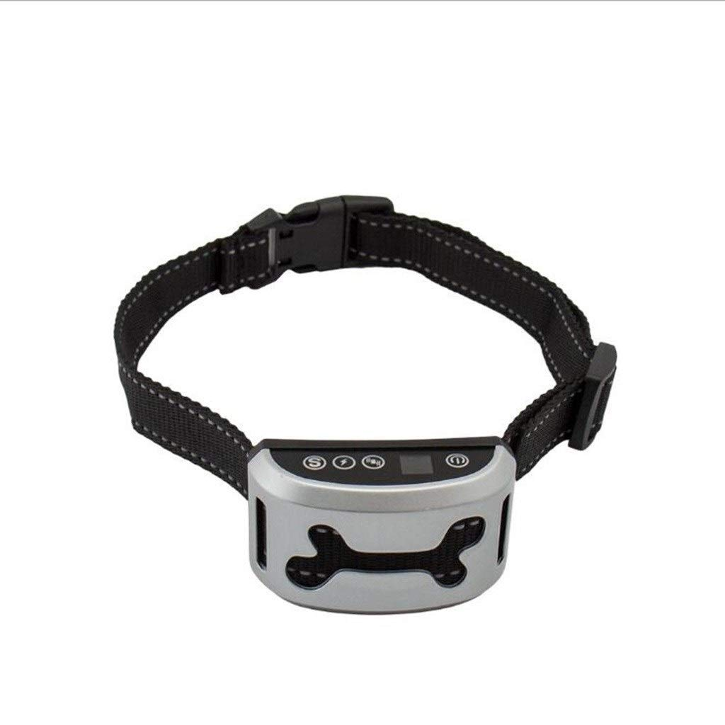 B WDP Dog Training Collar, Rechargeable Waterproof Three Modes To Train Your Dog (color   B)