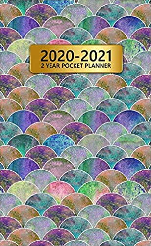 Amazon.com: 2020-2021 2 Year Pocket Planner: Two-Year ...