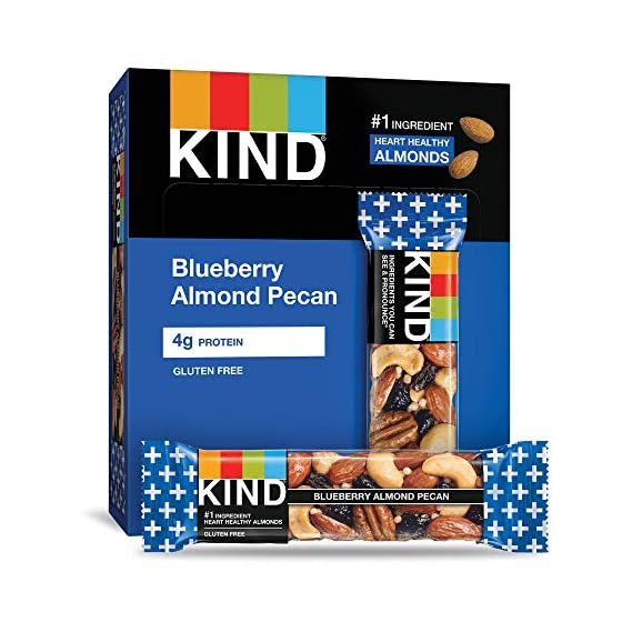 Kind Plus, Blueberry/Pecan 1.3 lbs(case of 12) by Kind Fruit & Nut Bars