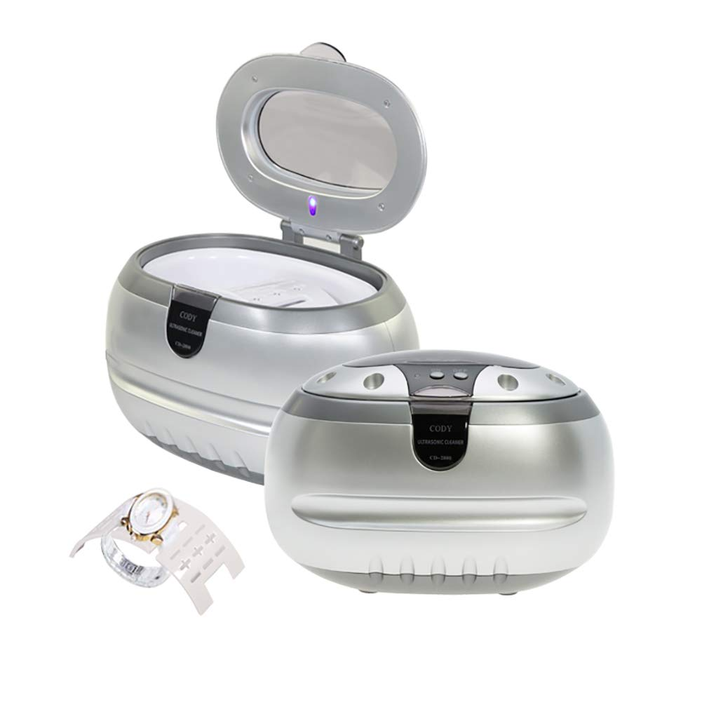 XDGG Small Ultrasonic Cleaner, Jewelry Glasses Braces Denture Accessories Household Ultrasonic Cleaning