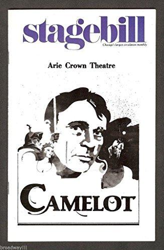 Richard Burton'CAMELOT' Christine Ebersole/Lerner & Loewe 1980 Playbill