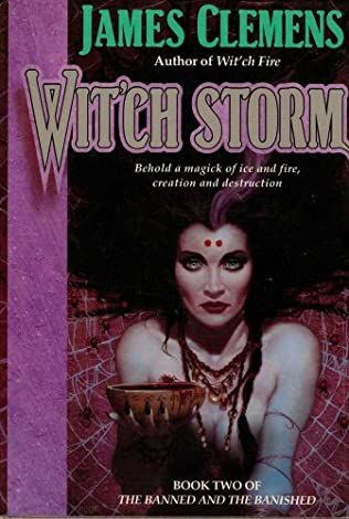 book cover of Wit\'ch Storm