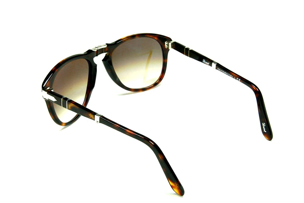 Persol PO0714 24//51 Havana Sunglasses with Brown Faded Lenses 52mm 714 24//51 52