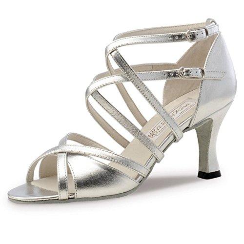 Werner Kern–Zapatos de baile para mujer EVA 6.5 plata