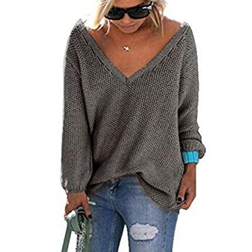 V Noir Chandails Lache Femmes Rose Cou Blanc Vert Pull Sexy Automne Caf Pullover Jumper Tricot 8OqS5OI