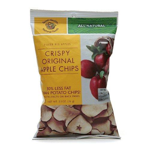 Good Health Natural Foods Crispy Original Apple Chips, 12 pk 2.5 oz (70 g)