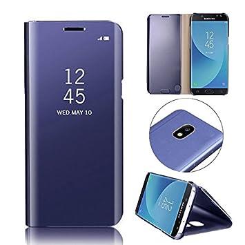 Galaxy A3 2017 Funda Chapado Espejo,MingKun Samsung Galaxy ...
