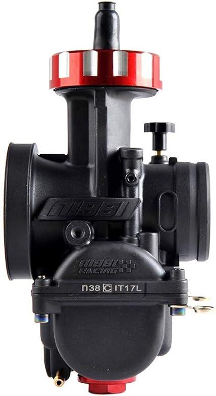 Nibbi Motorcycle Carburetor Main Nozzle Power Jet Slow Jet Main Injectors Nozzle Engine Applicable 145# main jet for PE
