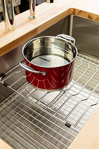 Franke PT14-31S Pecera Series Kitchen Sink Integral Shelf Grid .25 x 14 x 16.1 Stainless steel - - Amazon.com