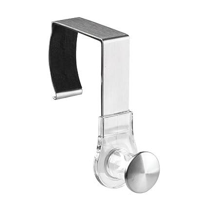Amazon.com: InterDesign Forma Over Door Shower Hook – Bathroom Caddy ...