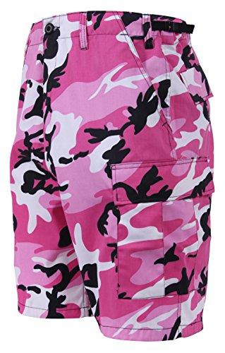 Rothco Bdu Short P/C - Pink Camo, Large by Rothco (Image #1)
