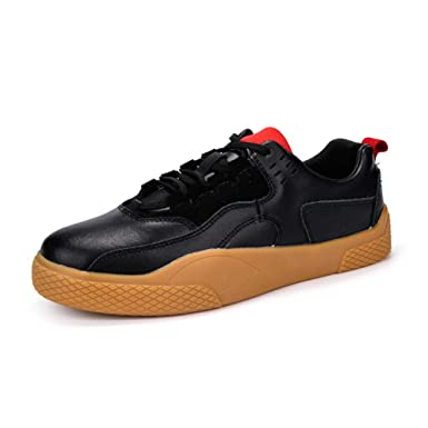 6727092381e70 Amazon.com: Casual Men Shoes and Sneakers Microfiber Shoes Low-Top ...