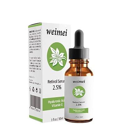 Retinol - Sérum facial con ácido hialurónico vitamina E antienvejecimiento retinol cara de suero facial retinol