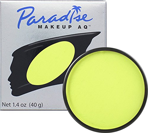 Loftus International Mehron Makeup Paradise AQ Face & Body Paint, Lime: Tropical Series - 40Gm Novelty Item ()