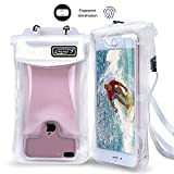 Waterproof Case, Floating SEGMART IPX8 Waterproof Phone Pouch Underwater Dry Bag for iPhone X/8/8P/7/7P/6P/6S; Galaxy S9/S9P/S8/Note 8; Google Pixel/Pixel Plus(clear)