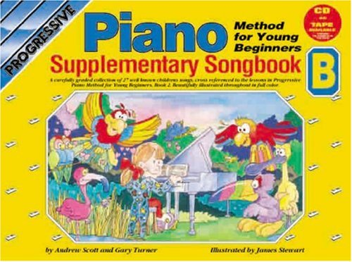 CP18396 - Progressive Piano Method for Young Beginners: Supplimentary Songbook B Book/CD (Progressive Young Beginners)