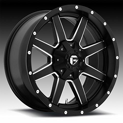 Fuel D538 Maverick 22x12 6x135/6x5.5'' -44mm Black/Milled Wheel Rim