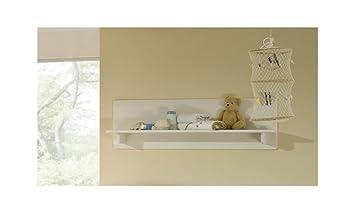 SAM® Kinderzimmer Wandregal weiß Odette Regal 120 cm klein: Amazon ...