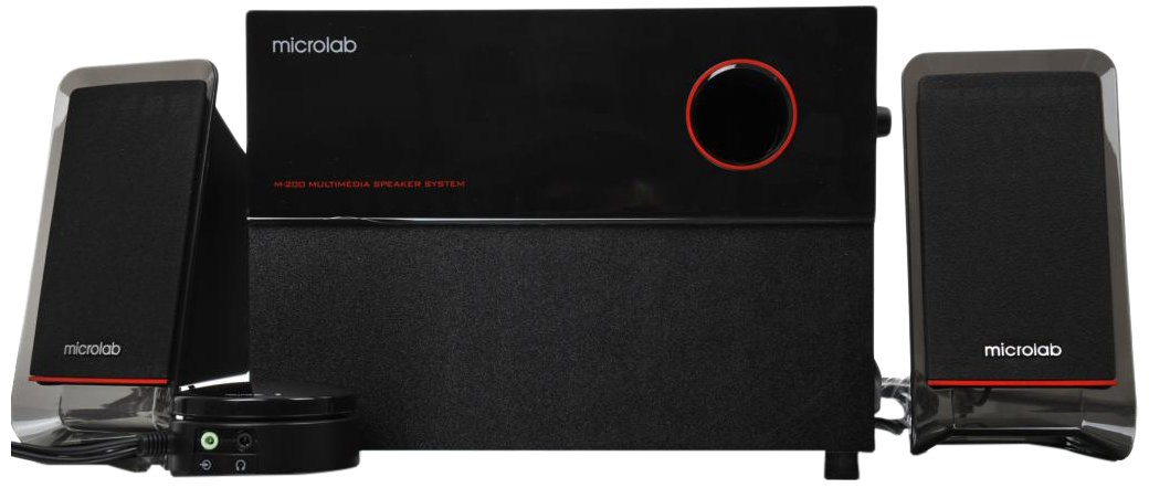 Microlab M200 Acoustic Hi-Fi 2.1 Home Theater by Microlab