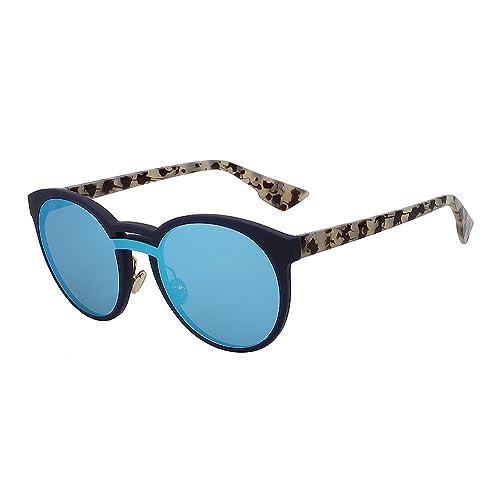 TIANLIANG04 Les femmes rondes grosses lunettes lunettes de mode du châssis arrière de Donna Summer Oculos lunettes UV400
