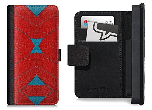 Design Flip Case für das iPhone 6 Plus - ''rote Blätter'' von caseable