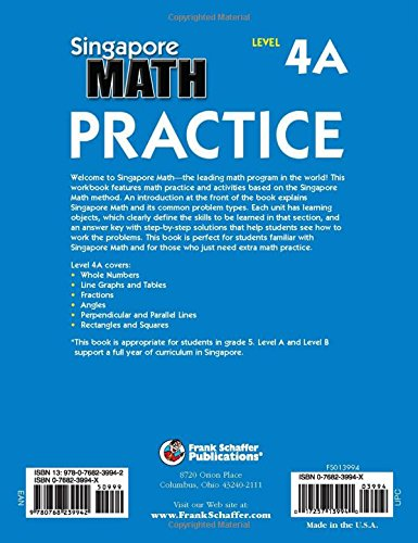 Workbook equivalent fractions worksheets pdf : Amazon.com: Singapore Math Practice, Level 4A, Grade 5 ...
