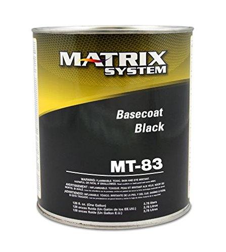 Matrix MT-83-G Black Basecoat Toner Gallon
