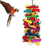 MEWTOGO Extra Large Bird Parrot Toys for Cockatoos African Grey Macaws Larger Image
