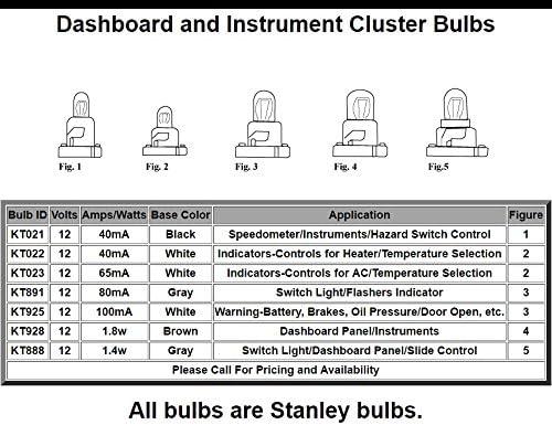 Stanley KT928 14.0v 1.8W ブラウンベース (10個入り)