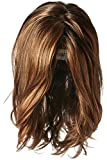 Hairdo Love Love Love Collection Long Full Length Straight Hair with Soft Natural Wave Highlights, SS9/30 Cocoa