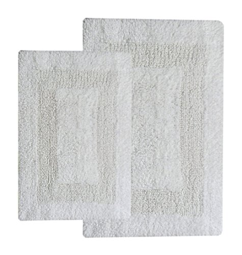 Chardin home 2 Piece Arizona Reversible Bath Rug Set (21