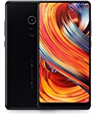 Xiaomi Mi Mix 2 (64GB, 6GB RAM) Global 4G LTE GSM Android Dual Sim Unlocked Phone, No Warranty (Black)