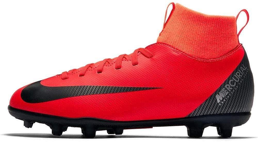 Botas de fútbol NIKE JR Superfly 6 Club CR7 FG/MG Junior (AJ3115 600): Amazon.es: Zapatos y complementos