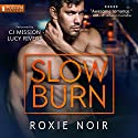 Slow Burn: A Bodyguard Romance Audiobook by Roxie Noir Narrated by Lucy Rivers, C.J. Mission
