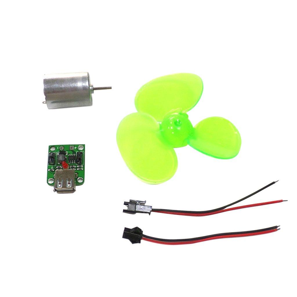 PETSOLA Telefon Ladeger/ät Windgenerator Lichtmaschine Mini Kleine Turbinenregler