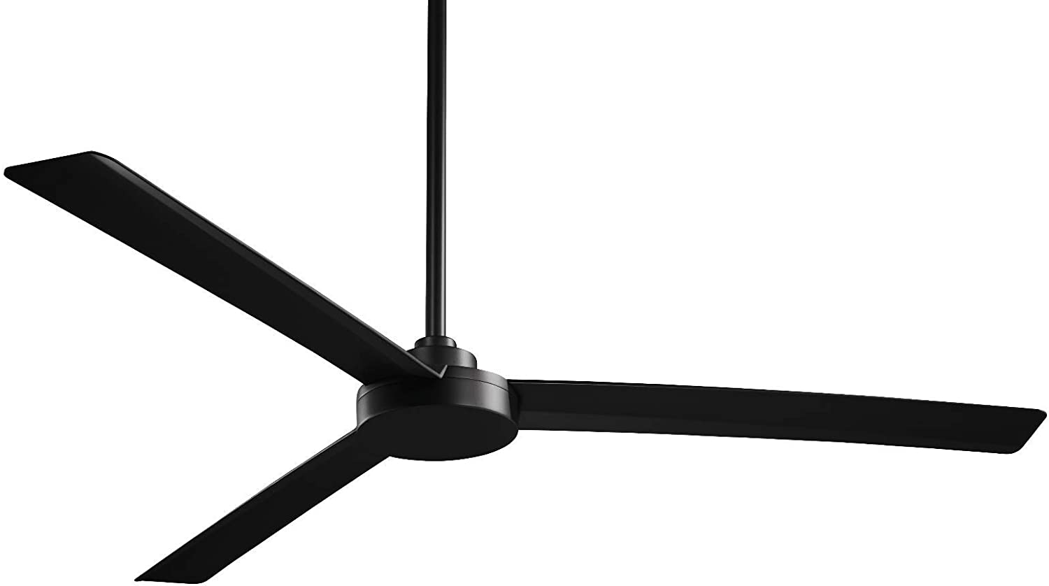 Minka Aire Roto Fan in Coal Black Finish