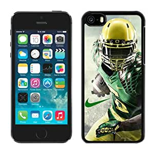 Beautiful iPhone 5C Case ,Unique And Lovely Designed With NCAA Pacific 12 Conference Pac 12 Football Oregon Ducks 15 iPhone 5C Phone Case