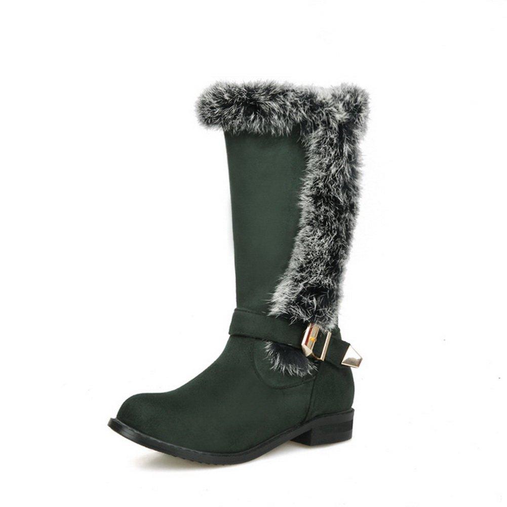 A&N - Botas de nieve mujer39|Verde En línea Obtenga la mejor oferta barata de descuento más grande