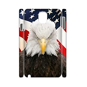 Bald Eagle Brand New 3D Cover Case for Samsung Galaxy Note 3 N9000,diy case cover ygtg579435