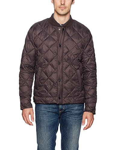 Bernardo Men's Jeff Quilted Primaloft Jacket, Galaxy, (Primaloft Insulation)