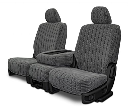 Custom Seat Covers for Ford Ranger Front 40/60 Split Bench - Charcoal Scottsdale