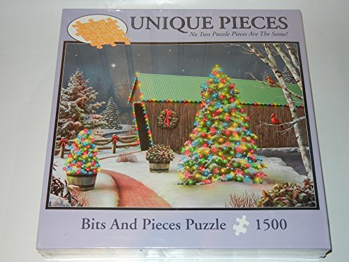 (Bits & Pieces Country Lights Holiday Christmas 1500 Piece Puzzle)