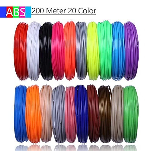 XuBaoFu, 2019 20 Color 200 M o 10 Colores 100 Metros Impresora 3D ...