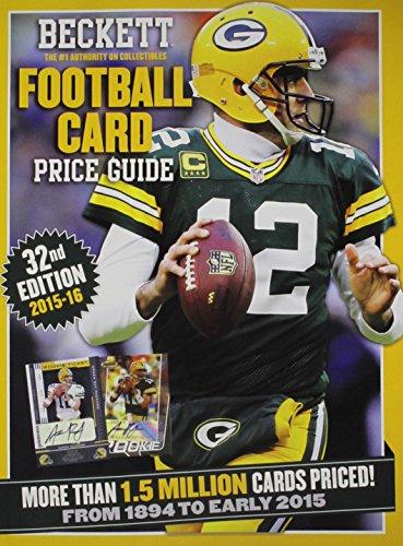 Football Beckett Cover (Beckett Football Card Price Guide 2015-16)