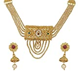 Efulgenz Indian Bollywood Traditional 14 K Gold