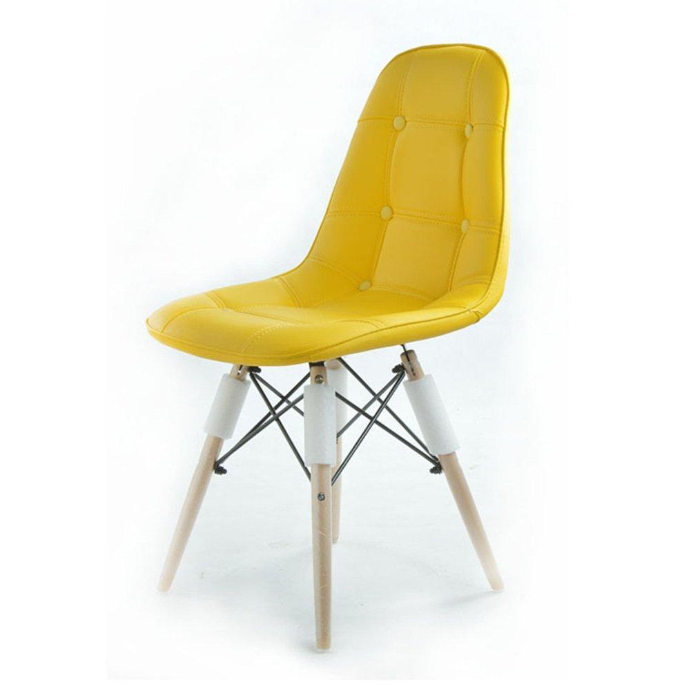 ZEMIN ダイニングチェア椅子の木の木製折り畳み 椅子ソファシートスツールテーブルバックレストクリエイティブファッションソリッドウッドレッグビジターコンピュータカラフル、7色、40x45x84CM ( 色 : E ) B0797L3LL9 E E